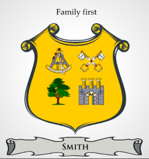 Generic Smith Coat of Arms