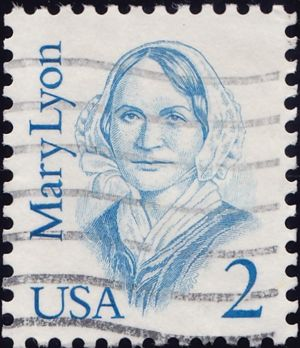 Mary Lyon 2 Cents US Postage