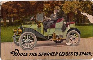 'While the sparker ceases to spark'