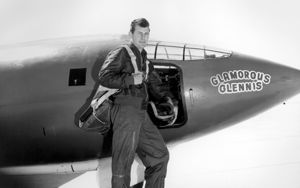 Chuck Yeager and Bell X-1 named for his wife