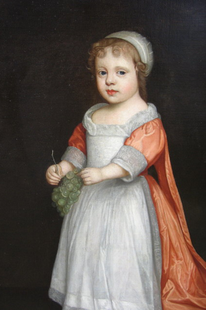 Anne Palmer, age 4, by Lely.