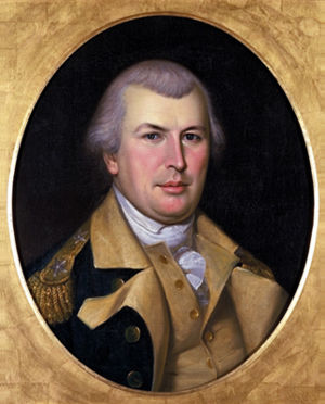 Nathanael Greene Original portrait painted from life in 1783