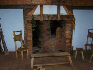 Reproduction of a Mid-1600s Hearth of An Acadian Home