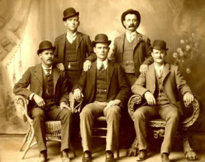 The Fort Worth Five (five members of the Wild Bunch)