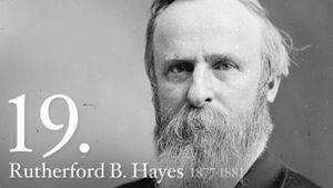 Rutherford B. Hayes 19th US President