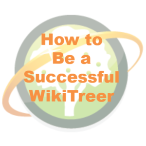 Successful WikiTreer
