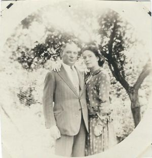 John Raymer and  wife Bertha