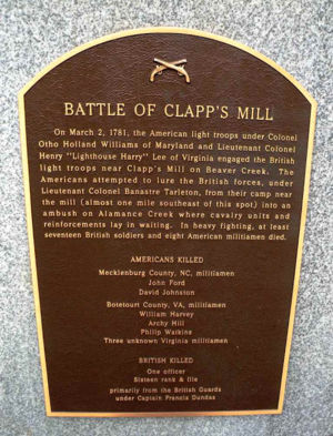 Battle of Clapp's Mill Image 2