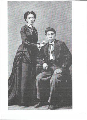Charles A. and Eliza C. Faribault Manaige