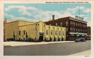 Masonic Temple and Cleveland Hotel