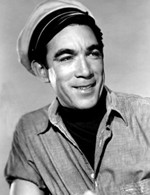 Publicity photo of Anthony Quinn