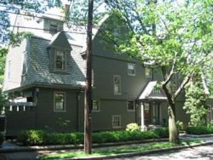 Fred Bowditch's Home at 164 Rawson Avenue