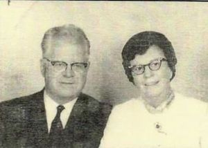 Rev. Clifford A. Crabtree and his wife, Helen Eddy Crabtree
