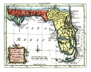 East Florida - Map of east florida