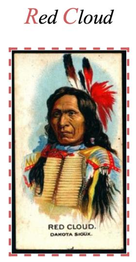 mahpiya luta  luta  red cloud  1822