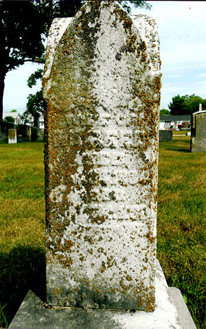 Christiana Howard Reed, Greenville Cemetery, Dark County, Ohio - photo by Phyllis Crick