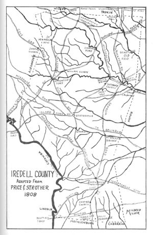 Iredell County in 1808
