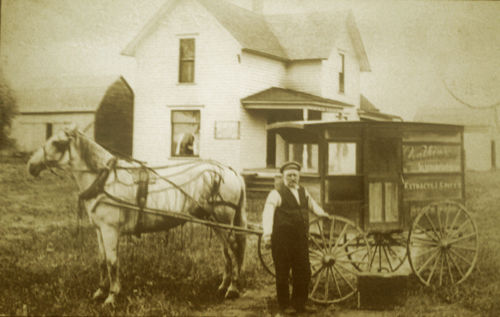 Family History Photo of the Week: Man on Farm