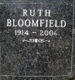 Ruth Bloomfield