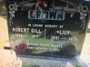 Robert and Lily Brown