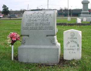 Cole Younger Headstone