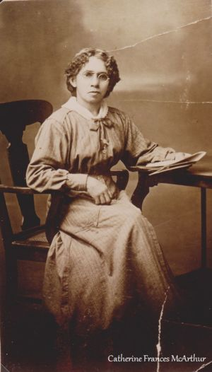 Frances Catherine (McArthur) Harton (abt 1869-1952) | WikiTree FREE