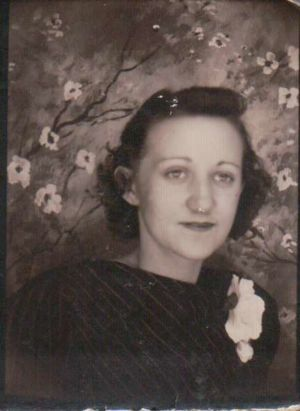 Ruth at about 23 years old