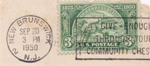 American Bankers Association 3 Cent US Postage