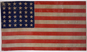 36 Star Union Army Battle Flag