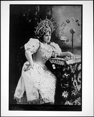 Lillian Russell in costume