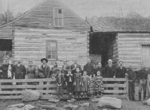 The William and Missouri Casey Homeplace 1900