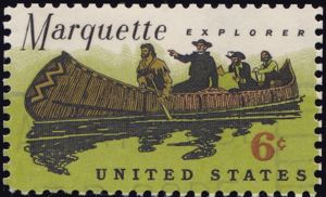 Marquette 6 Cents US Postage