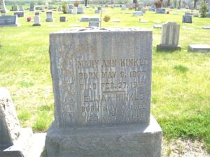 Elijah and Mary Stewart Hinkle