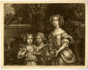 Charles Beauclerk with brother James and mother Nell