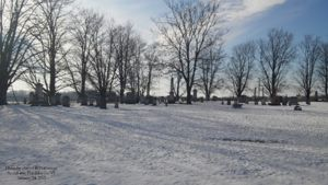 St. Albans Point Cemetery - January 24, 2015
