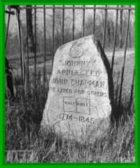 Grave of Johnny Chapman.