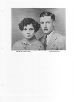 Norman & Marjorie Johnson