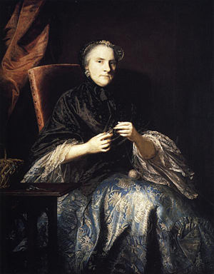 Anne, 2nd Countess of Albemarle, née Anne Lennox by  Joshua Reynolds