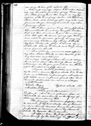 New Hampshire, Wills and Probate Records, 1643-1982 for Ezekiel Smith PAGE TWO