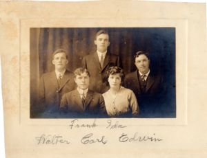 Frank Granstrom and family.
