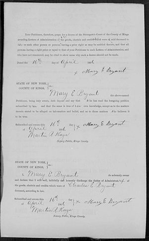 1906 Will of Charles Page 3