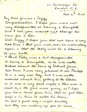 Harriets daughter a letter to gran