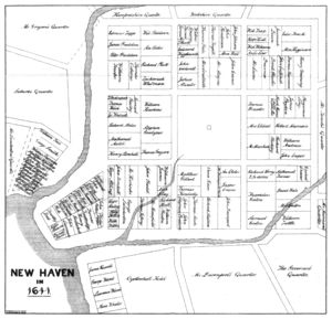 New Haven Colony in 1641