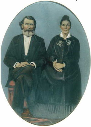William and Sarah Downing Hinkle