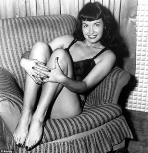 Bettie Page Paintings For Sale