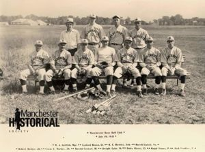 Manchester Base Ball Club, 1931