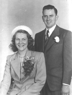 Earl & Edith Wedding Day