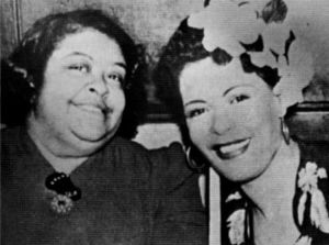 Sadie Fagan and her daughter Billie Holiday
