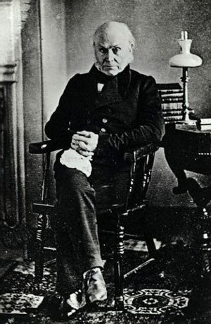 John Quincy Adams (photo).