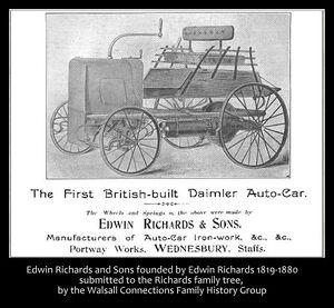 First British built Daimler Autocar